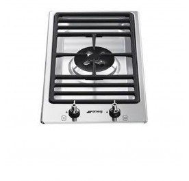 Smeg PGF31G-1 Stainless Steel, Modular 1-Burner Gas Hob