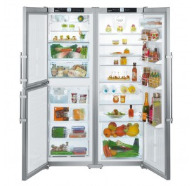 Liebherr SBSes7353 3-Door Refrigerator (667L Side-by-Side Premium BioFresh Fridge-Freezer)