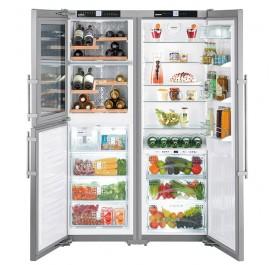 Liebherr SBSes 7165 PremiumPlus 3-Door Refrigerator (602L Pigeon Pair Fridge-Freezer)