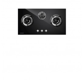 Pacifica IGN3 Storm Treo 3-Burner Gas Hob