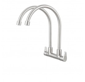 Haustern HT-AZ-402-UC Double Spout Kitchen Cold Tap