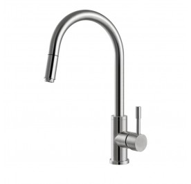 Haustern HT-XE-301-UCR Pull-Out Kitchen Mixer Tap
