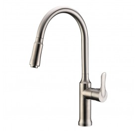Haustern HT-XE-401-UCR Pull-Out Kitchen Mixer Tap