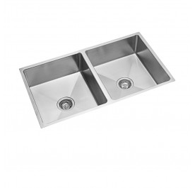 Haustern HT-UM-121 Undermount 2-Bowl Stainless Steel Sink