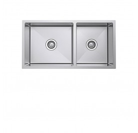 Haustern HT-UND-R10-121 Undermount 2-Bowl Stainless Steel Sink