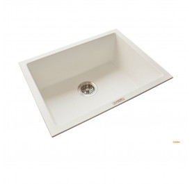 HCE GKS-6146-W Single Bowl Granite Sink