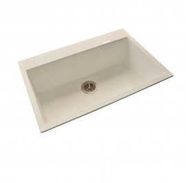 HCE GKS-7851-W Single Bowl Granite Sink
