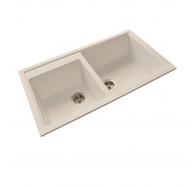 HCE GKS-8650-W Double Bowl Granite Sink
