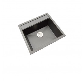 HCE GKS-5651-MBL Single Bowl Granite Sink