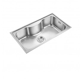 HCE KS-8550 Top Mount Jumbo Stainless Steel Sink