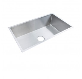 HCE KS-7845 Undermount Jumbo Bowl Stainless Steel Sink come with Colander