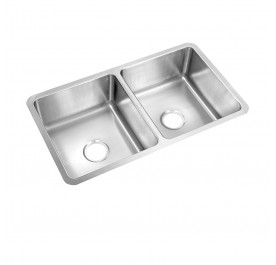 HCE KS-8348 Undermount Double Bowl Stainless Steel Sink