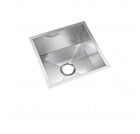 HCE KS-4545 Undermount Single Bowl Stainless Steel Sink come with Colander