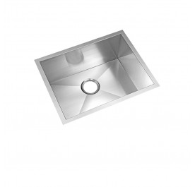 HCE KS-5745 Undermount Single Bowl Stainless Steel Sink come with Colander