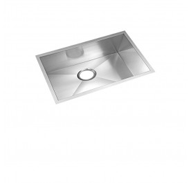 HCE KS-7645 Undermount Single Bowl Stainless Steel Sink come with Colander