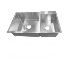 Smith STM-885123 2-Bowl Stainless Steel Sink