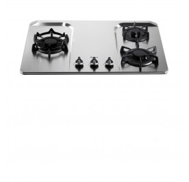 Rinnai RB-37F Lotus 3-Burner Gas Hob (Stainless Steel)