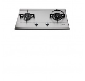 Rinnai RB-712N-S 2-Burner Gas Hob (Stainless Steel)