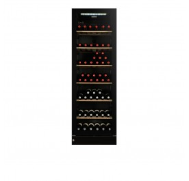 Vintec V190SG2EBK Wine Chiller (155 Bottles Wine Storage Cabinet)