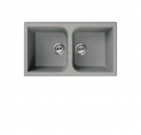Elleci LGN45073 (VENICE Silver) Granite Sink - (Display Clearance)