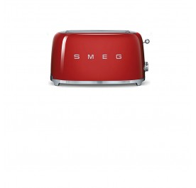 Smeg TSF01RD 50's Retro Style Toaster (Red)