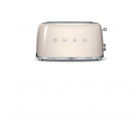 Smeg TSF01CR 50's Retro Style Toaster (Cream)