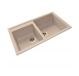 HCE GKS-8650-V Double Bowl Granite Sink