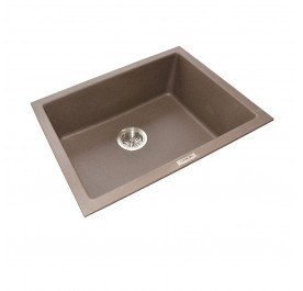 HCE GKS-6146-MBR Single Bowl Granite Sink