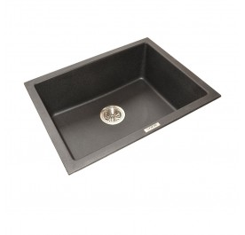 HCE GKS-6146-MBL Single Bowl Granite Sink