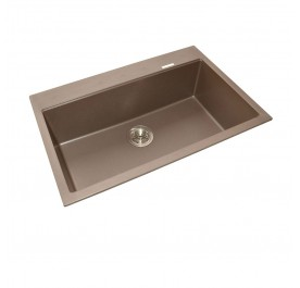 HCE GKS-7851-MBR Single Bowl Granite Sink
