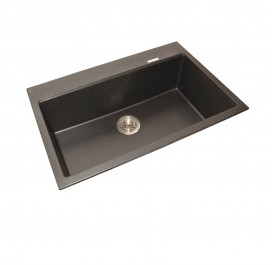 HCE GKS-7851-MBL Single Bowl Granite Sink