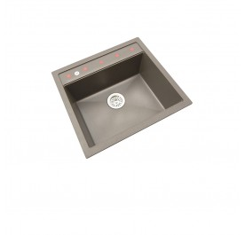 HCE GKS-5651-MBR Single Bowl Granite Sink
