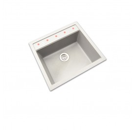 HCE GKS-5651-MGR Single Bowl Granite Sink