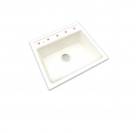 HCE GKS-5651-W Granite Sink