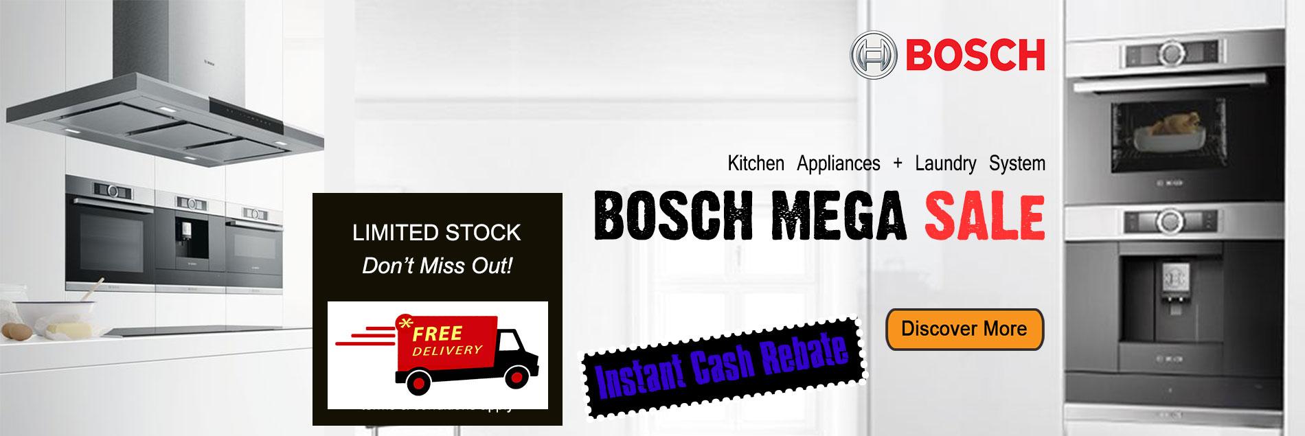 Bosch Mega Stock Clearance