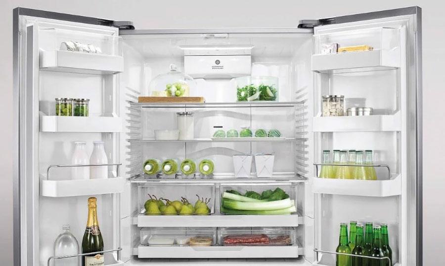 fisher & paykel RF610ADUB5 - 614Llarge size french door refrigerator freezer drawer