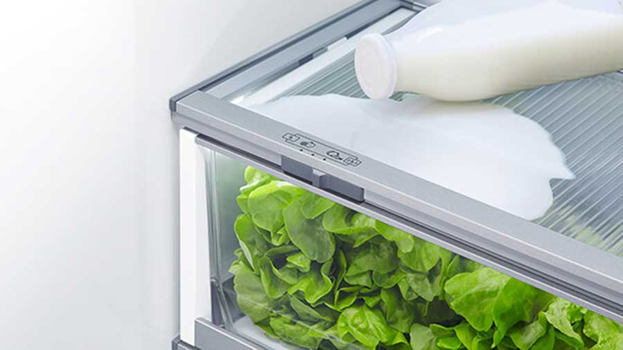 Nomore spill-off and leaks problem with F&P RF610ADUB5 french door refrigerator