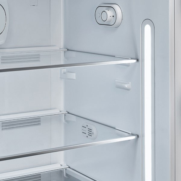 Smeg 50's retro-style fridge internal lighting